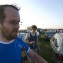Ruairi Gets His First Taste of Tailgating