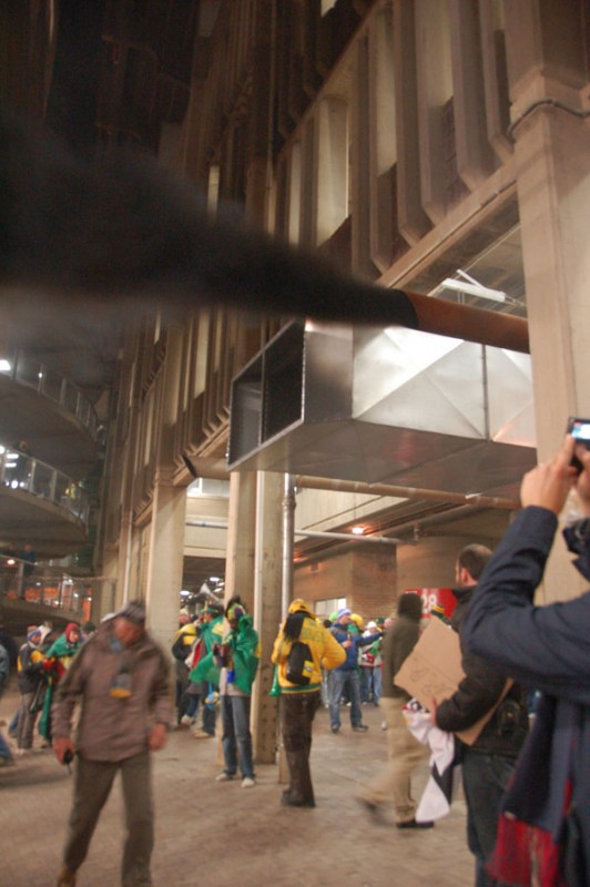 """The Smoke Monster from """"Lost"""" Actually Lives in the Ellis Park Concourse"""